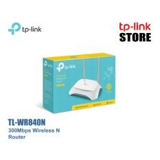 TP-LINK TL-WR840N (V2) 300Mbps Wireless N Router - Putih (TP-LinkStore) TpLinkStore