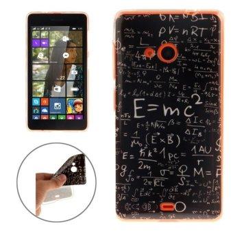 ... TPU Case pelindung untuk Microsoft Lumia 535 (hitam) - 4 ...