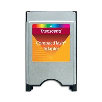 harga Transcend Compact Flash Adapter CF2PC - Silver Lazada.co.id