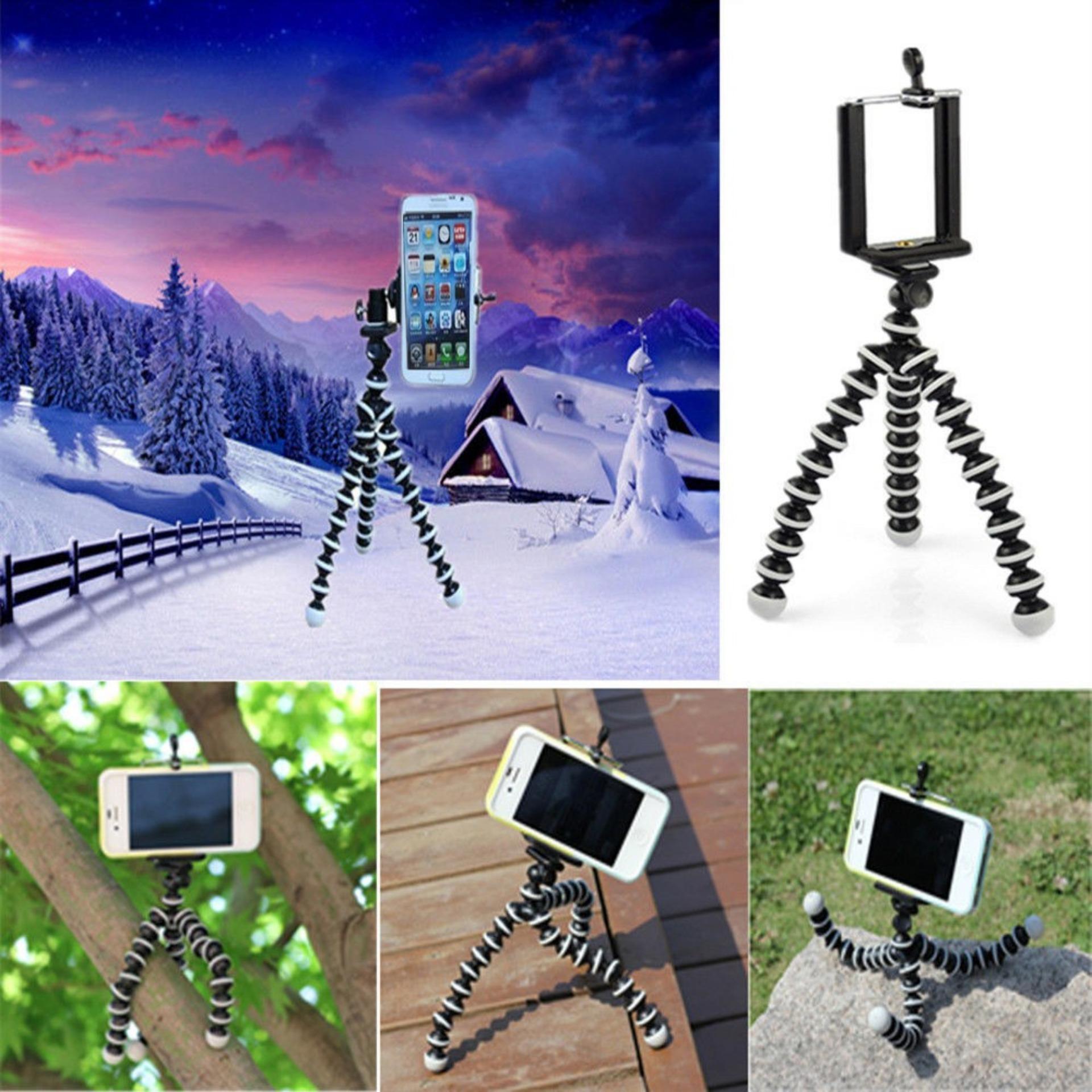 Tripod Flexible Gorilla With Holder Stand Mount For Goprocameraslr Gekkopod Mini Smartphone Portable And Fleksibel Cumi Fbl Gopro Camera Slr