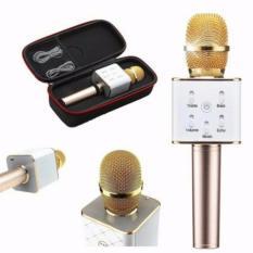Tuxun Q7 K078 Portable Wireless Bluetooth Microphone For Karaoke & Smule - Warna Random