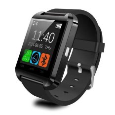 U Watch - U8 Smart Watch For Android and iOS - Hitam