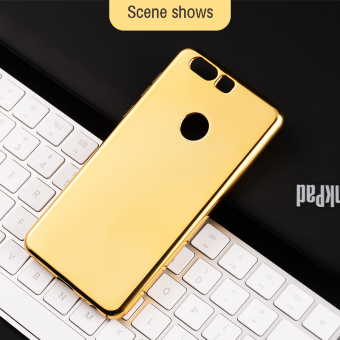 Ultra Slim Gold Bling Case For OPPO R7 R7 Plus Mirror Penutup