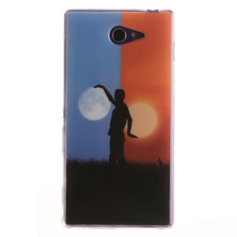 Belanja Terbaik Ultra Slim Protector Fit Soft TPU Phone Back Case Cover for SonyXperia M2 (