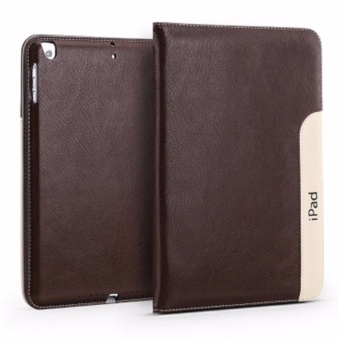 Ultra Slim Smart Cover Leather +PU Leather Case For Apple iPad Mini1/2/3 Leather Cases - intl