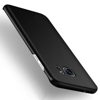 Ultra-Tipis keras hibrida pelindung PC penutup belakang Case Untuk Samsung Galaxy S6 Edge Plus (hitam) - International