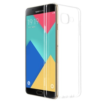 Ultrathin Softcase Samsung Galaxy A7 2016 A710 Transparant - Putih