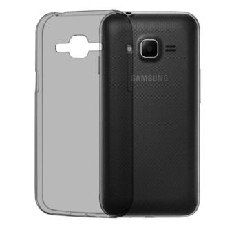 Ultrathin SoftCase Samsung Galaxy J1 / Samsung J1 / Samsung j100UltraFit Air Case / Jelly case / Soft Case / Transparan case -Hitam - 2