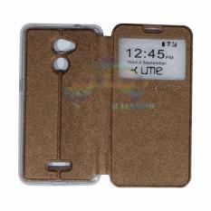 Ume Coolpad Fancy 3 E503 Ukuran 5.0 Inch Flip Cover / Flipshell /Leather Case /