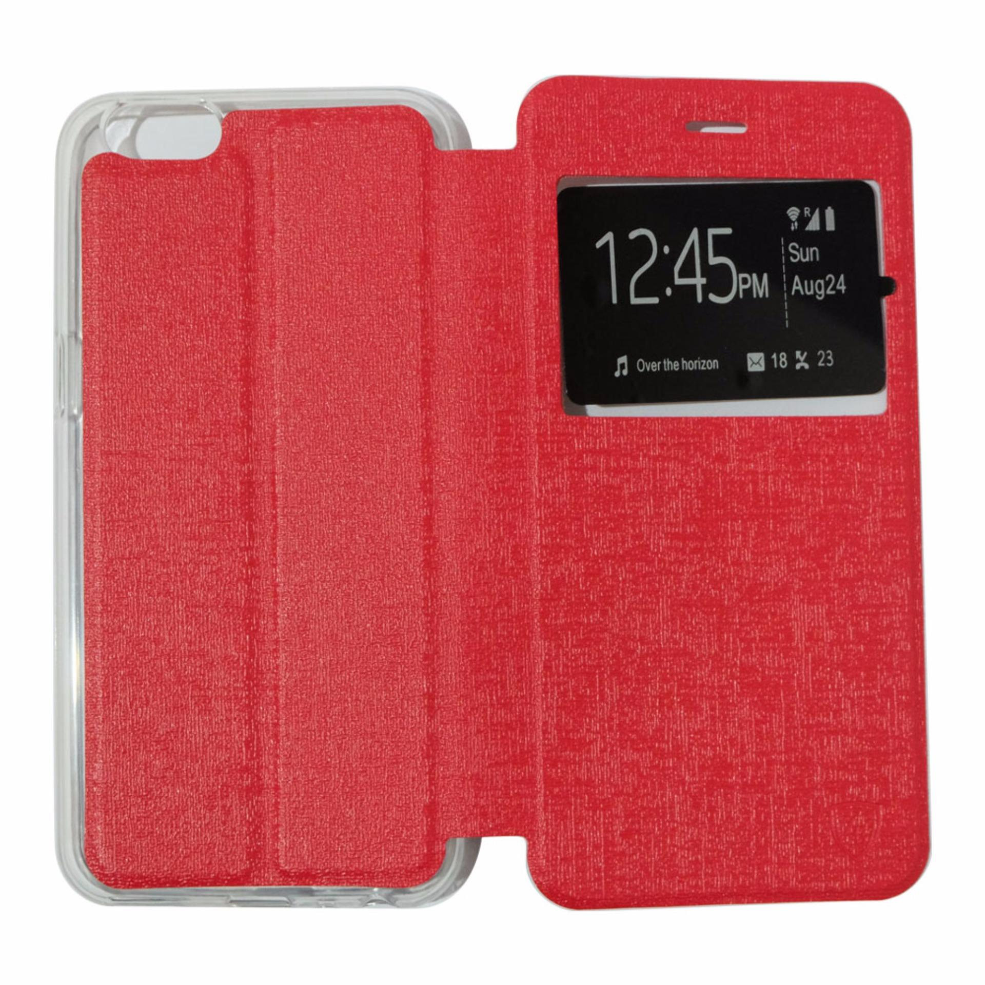 ... Ume Leather Cover Oppo Neo 7 A33 Leather Case Sarung / Flipshell /Flip Cover Kulit ...