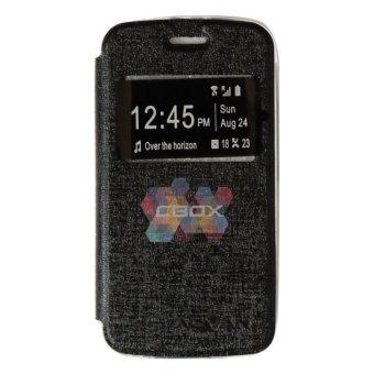 Pencari Harga Ume Phone Cover for Advan Vandroid S4t Flip Shell silicone /Leather Faux Case - Hitam Harga Penawaran