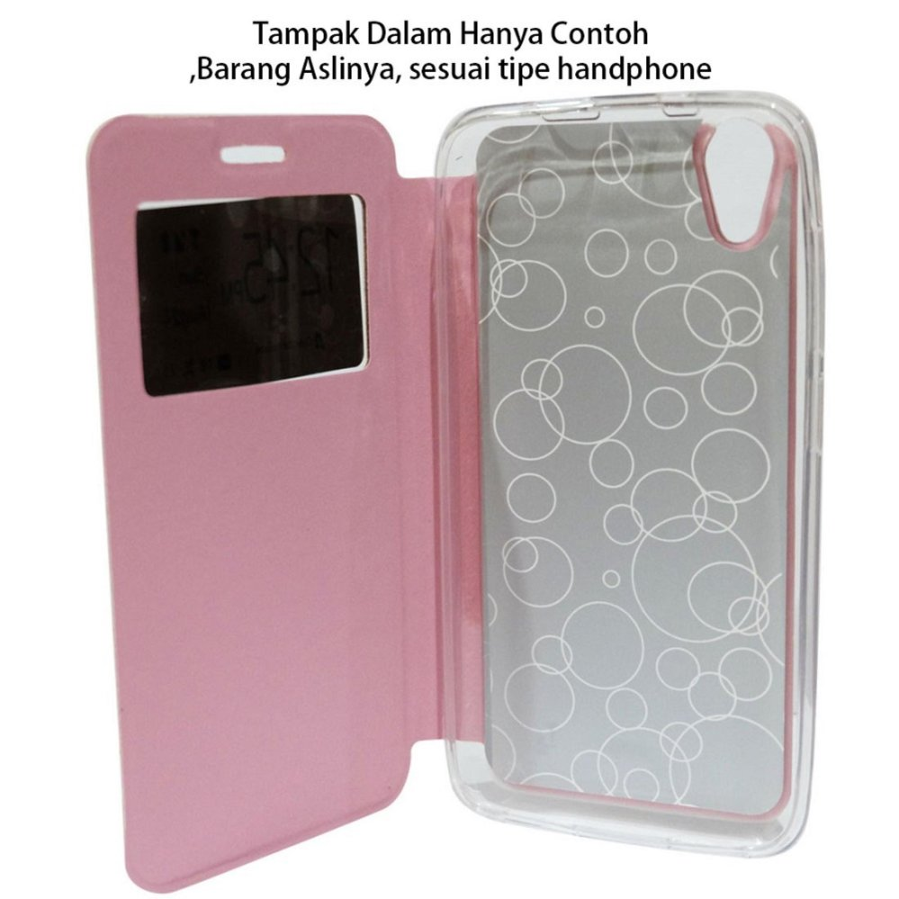 ... Ume Phone Cover for Advan Vandroid S4t Flip Shell silicone /Leather Faux Case - Hitam ...