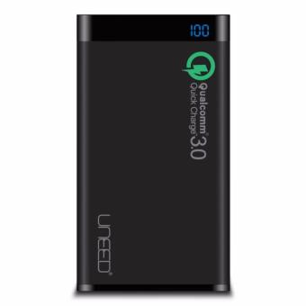 Uneed Powerbank 12.000mah Qualcomm Quick Charge 3.0 - Black