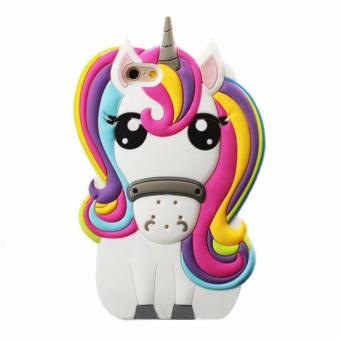 Unicorn 3D Doll Soft Silicone Case Cover for Apple iPhone 5/5S/SE