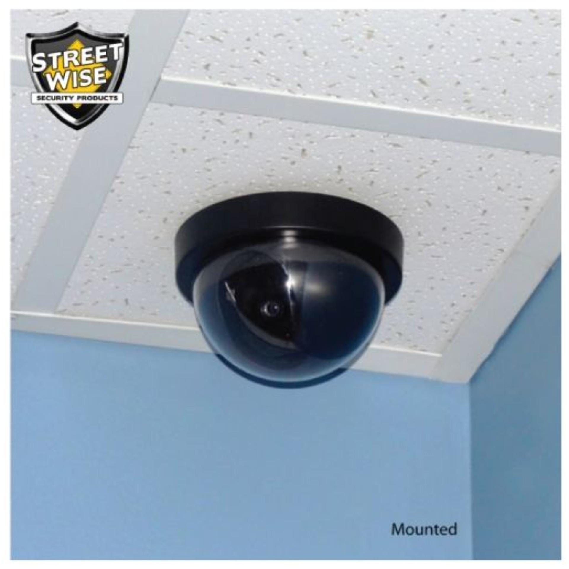 ... Unique CCTV Dummy Lampu LED Kedip Fake Security Camera Anti Maling CCTV Palsu Replika Mirip Asli ...