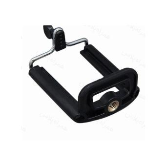 Unique Mobile Holder U / Mount HP Smartphone Android Action Camuntuk Monopod / Tripod / Tongsis- Hitam