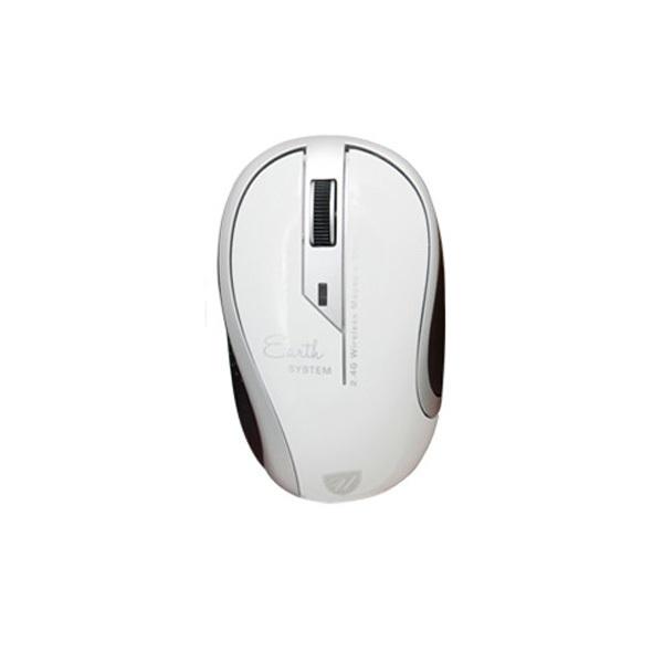 uNiQue Mouse Wireless Earth Series Mouse Nirkabel - Wireless Mouse Untuk Komputer dan Laptop PC -