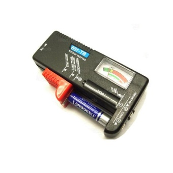Harga Universal Battery Tester Checker AA AAA 9V Button - intl