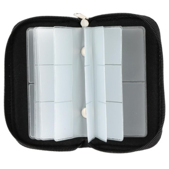 Universal Memory Card Storage Carrying Pouch Bag Case Holder Box Wallet for SD/SDHC/CF/TF/MMC Card Portable - intl