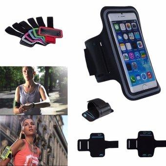 Universal olahraga lari ARM band yang wadah 5,2~5.7 Inci .
