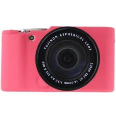 Universal Silicone Case Pink For Fujifilm X-A2/X-A1/X-