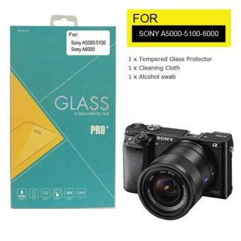 Universal Tempered Glass / Screen Protector / Pelindung LCD ForSony A5000/5100/6000