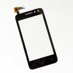 untuk Alcatel One Touch OT 4034 4034D 4034A 4034E OT4034 OT-4034 Layar Sentuh Digitizer Touch Panel Penggantian Mobile Accessories + 3 M Tape + Membuka Alat Perbaikan + Lem-Intl