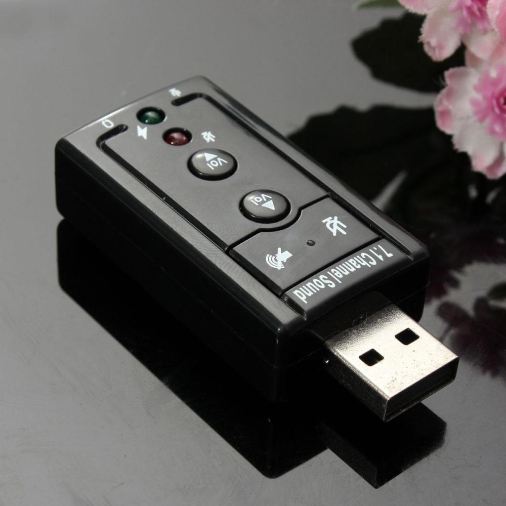 Belanja Murah Usb 20 External 71 Channel 3d Sound Card Speaker Mic Earphoneaudio Adapter Intl