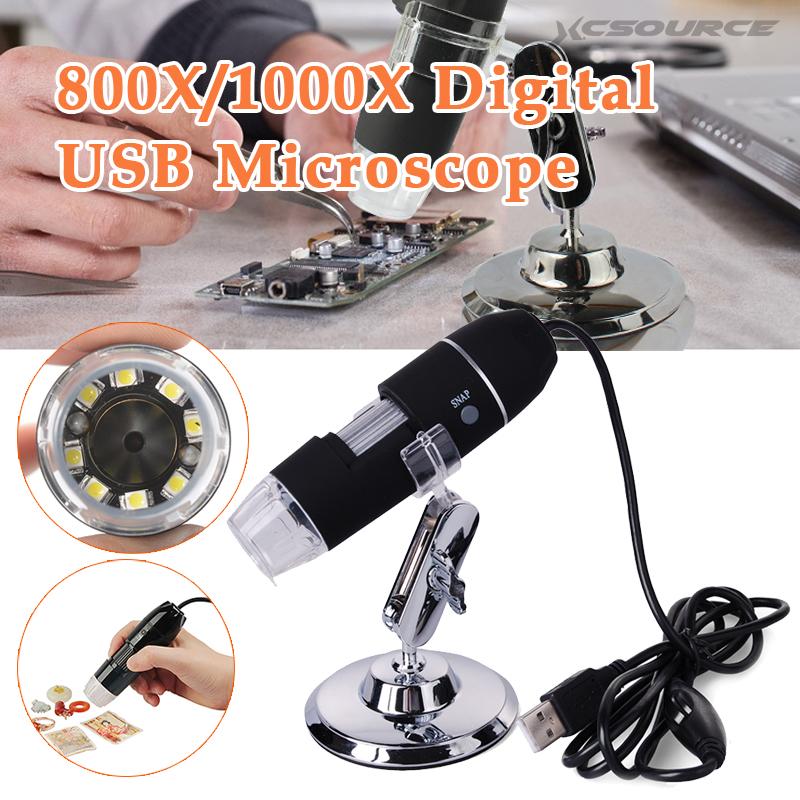 ... USB 20 x - 800X Kaca Pembesar Mikroskop Digital Kamera VideoEndoskopi ...