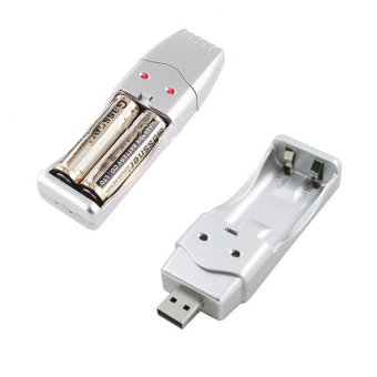 Harga USB Charger for NiMH AA / AAA Rechargeable Charger - Intl - intl