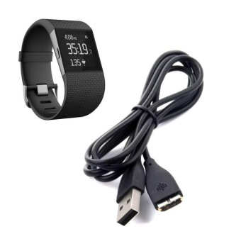 USB Charging Cable Charger for Fitbit Surge Fitness Watch Wristband - intl