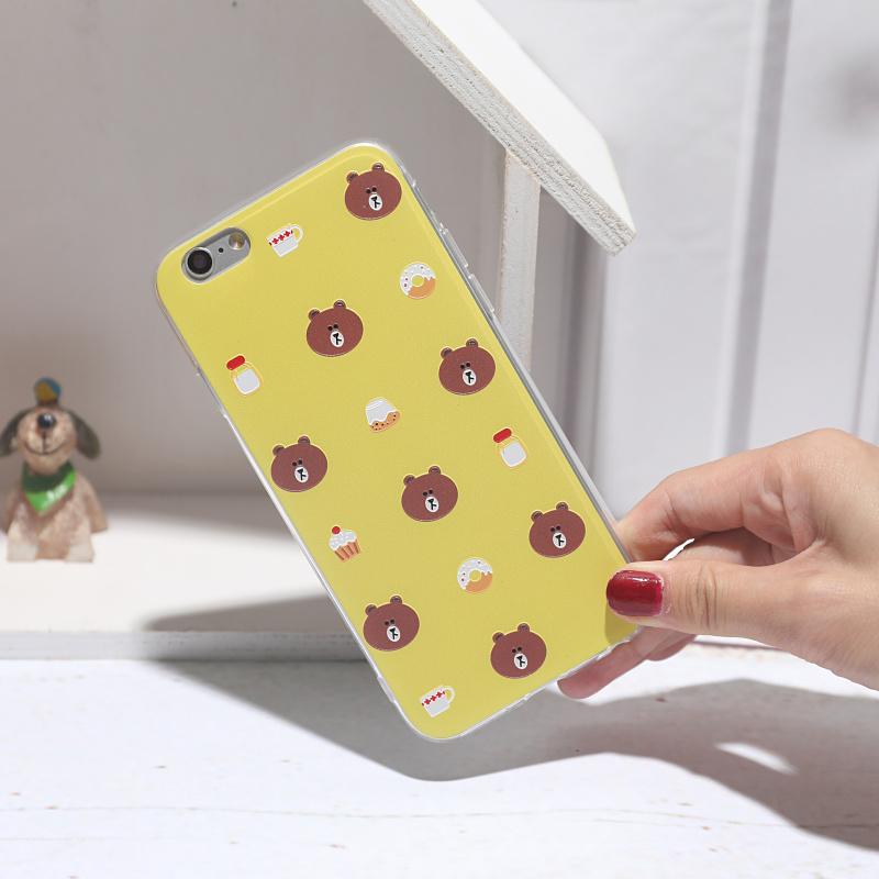 ... Silicone 3D Samsung J7. Source · USBROWN BEAR 6  Splus iphone7 OPPOR9S R11 vivox9 IPHONE soft cover handphone 535cc596c3