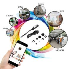 USTORE Wireless Nanny Cam WIFI IP Pinhole DIY Digital Video Camera Mini Micro DVR - intl