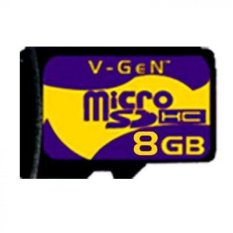V-Gen Micro SD 8GB Class 6 Memory Card - 8 GB