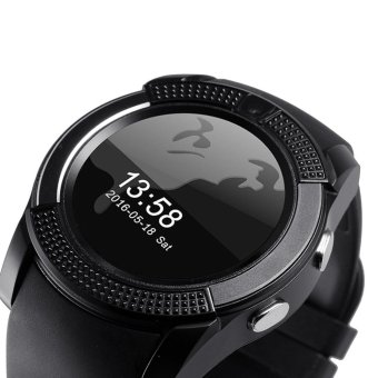 V8 Smart Watch Wacht Clock With Sim TF Card Slot Bluetooth Connectivity for iPhone Android xiaomi Phone pk GT08 DZ09 - intl