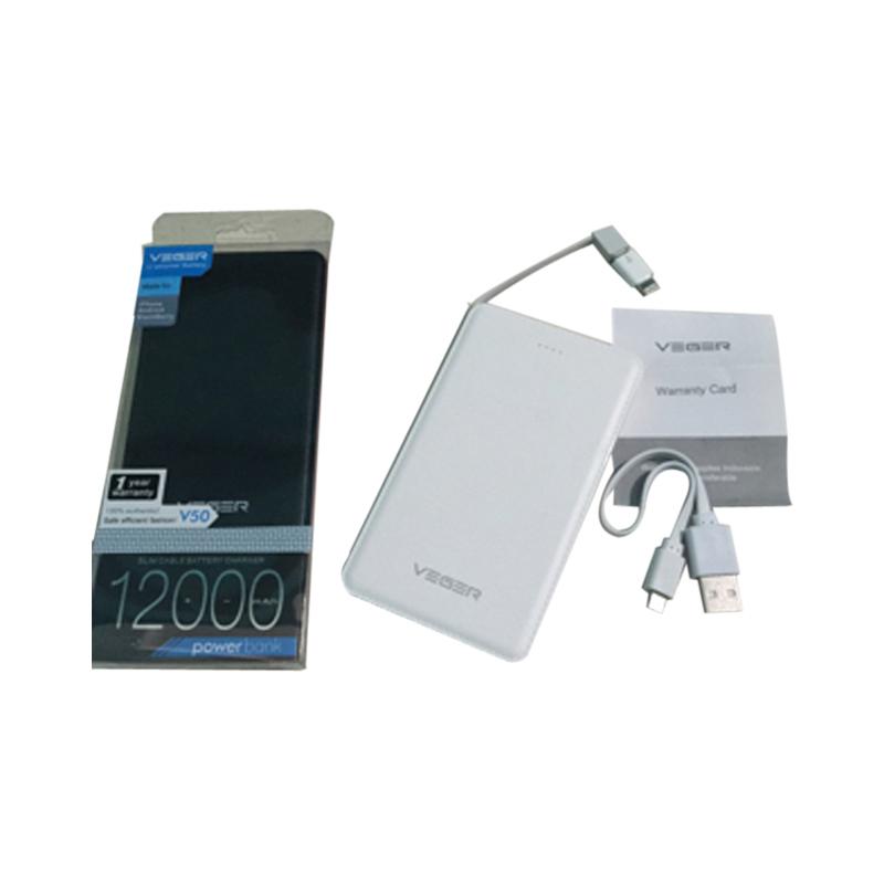 Cheap online Veger Powerbank V50 12000mah Original - Putih