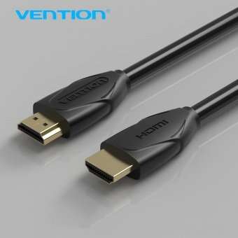 Vention High Speed Cable HDMI Gold Plated Male-Male 1.4V HDMI Cable 1m/2m/3m/5m 3D 1080P for computer smart box ps3 set-top box 1M - intl