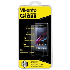 Vikento Glass Tempered Htc One M8 - Premium Tempered Glass - Anti Gores - Screen Protector