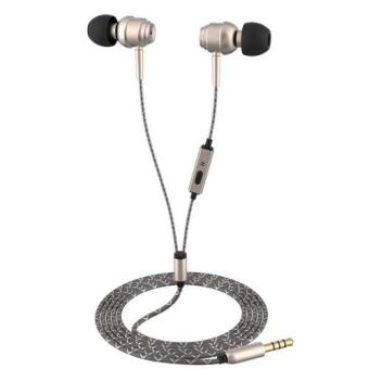 Vivan VE-M20 Super Bass Wired Headset Golden