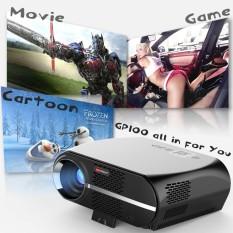 Vivibright GP100 LED Proyektor LCD 3500 Lumens 1280x800 Piksel 1080 P HD VGA USB Home Teater UNI EROPA- INTL