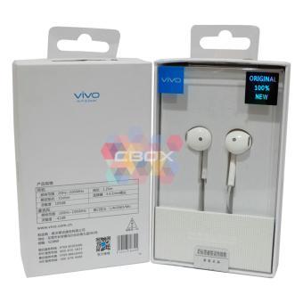 Update Harga Vivo Handsfree Vivo V5 V5s V5 plus Y53 XE680 Original 100% New Headset Vivo Bisa Untuk Brand Handphone Android Selain Vivo Jack 3.5m – White IDR64,900.00  di Lazada ID
