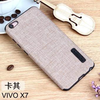 Vivo x7/X7plus/x7 tergelincir linen lanyard shell ponsel shell