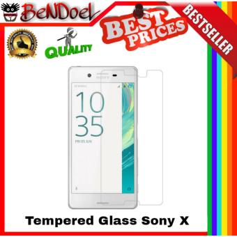 Vn Tempered Glass 9H for Sony Experia Xperia X / Dual 2D RoundCurved Edge Screen Protector