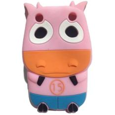 Wakaka Soft Case Cow Series for BlackBerry Curve 9320 - Pink