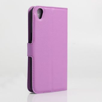 Wallet Flip Leather Case Cover For Oppo A37 / Oppo Neo9 (Purple -intl