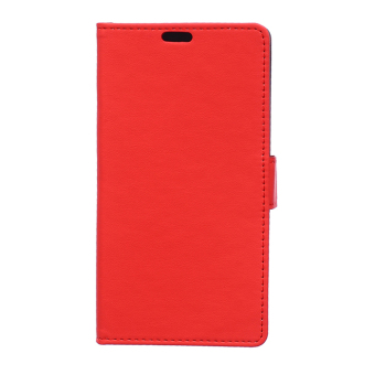 Wallet Leather Stand Phone Cover for Lenovo Vibe K4 Note / X3 Lite / A7010 - (Red) - intl