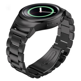 Watch Band Strap and Connector for Samsung Galaxy Gear S2 SM-R720Stainless .