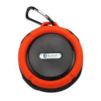 Waterproof Bluetooth speaker C6 Mini Bluetooth stereo orange - intl