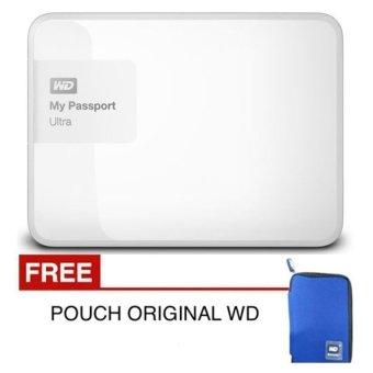 Spesifikasi Western Digital New Passport Ultra 2 TB Putih Premium + Gratis Pouch Original WD                 harga murah RP 2.100.000. Beli dan dapatkan diskonnya.
