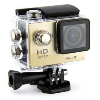 Winliner ACC-G-18 Waterproof Sport Action Camera (Gold) - intl